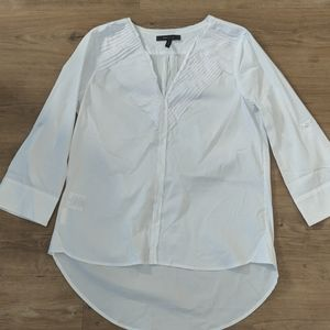 BCBG MaxAzria Women's White Blouse